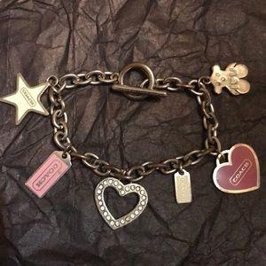 COACH Charm Toggle Bracelet